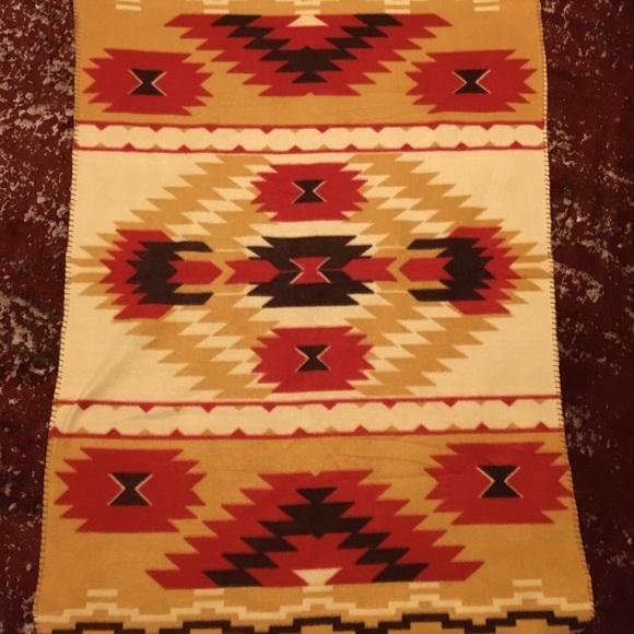 Labre Indian School Fleece Blanket 48x32 St